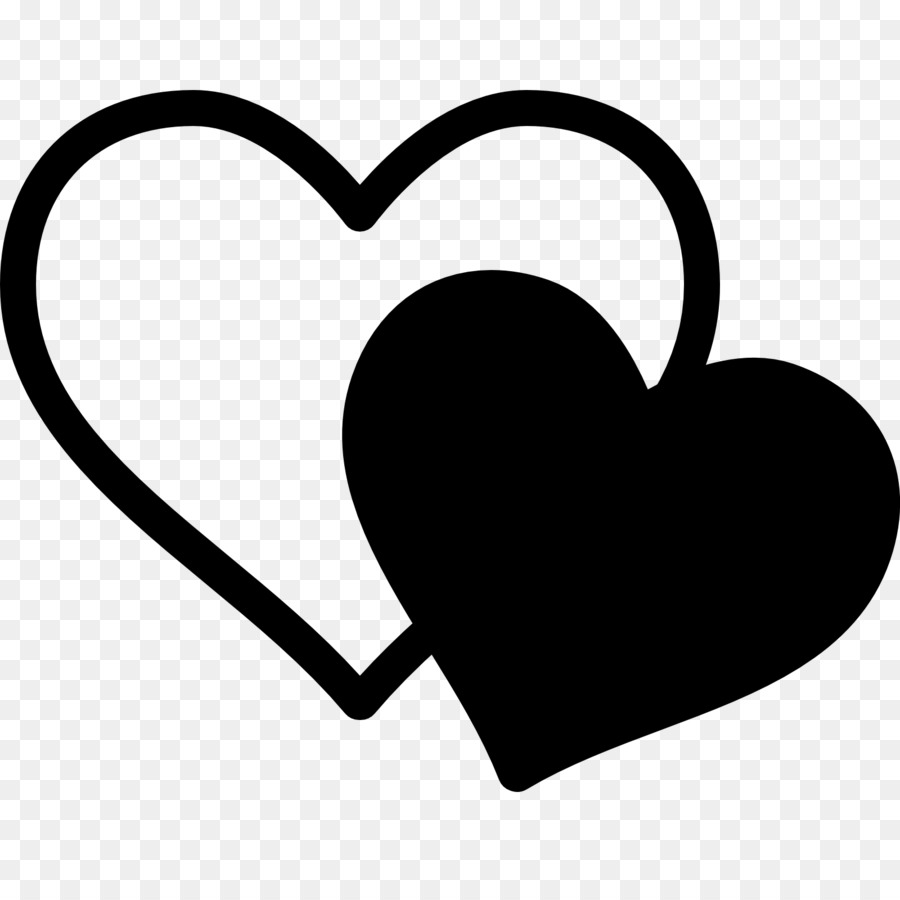 Computer Icons Tinder Dating Clip Art Double Hearts Png Download