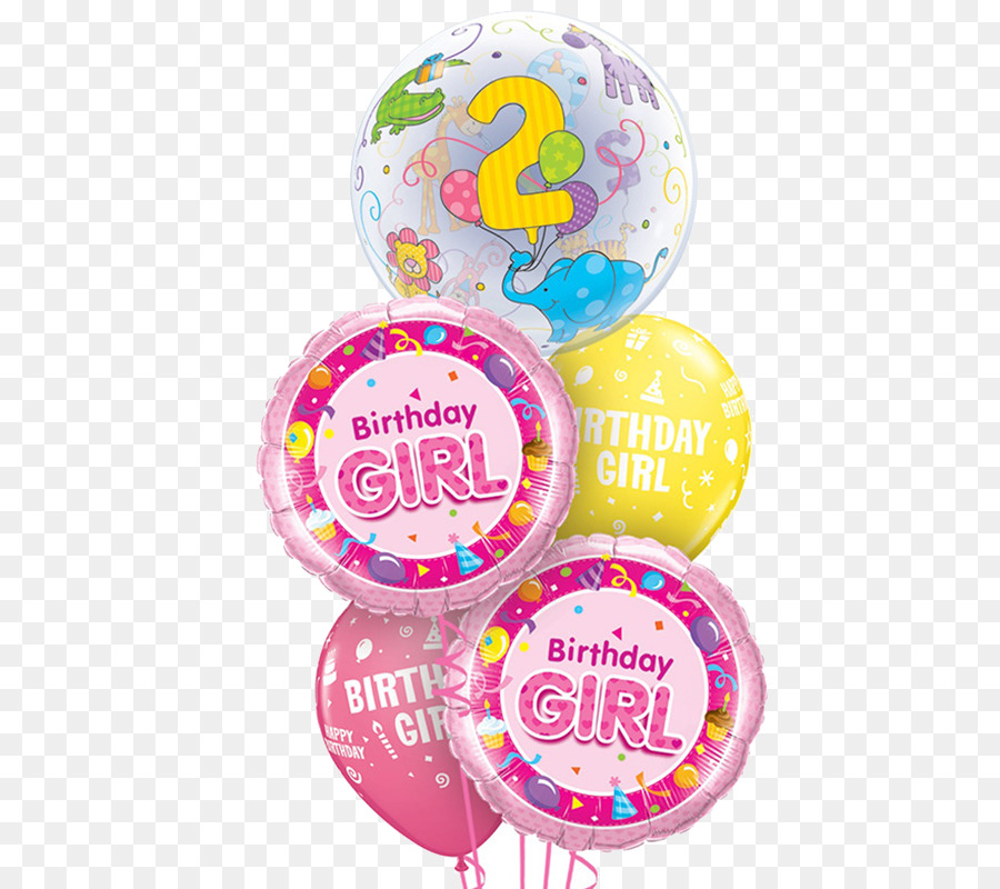 Toy balloon Flower bouquet Birthday Party - balloon png download ...