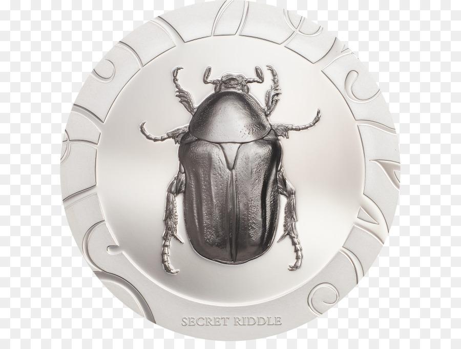Beetle Silver Proof coinage Scarab - beetle Formatos De Archivo De ...