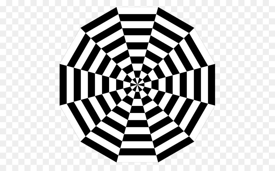 Optical illusion Peripheral drift illusion Drawing - pizza Painting ...