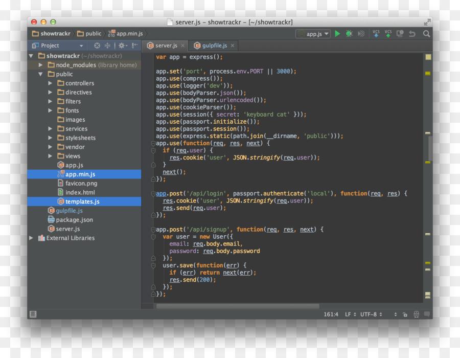 computer programm screenshot nodejs javascript mongodb lebenslauf - Lebenslauf Programm