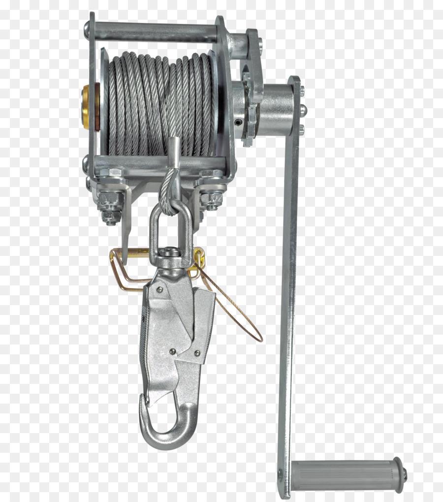 Winch Hoist Tripod Fall arrest Wire rope - Skylotec png download ...