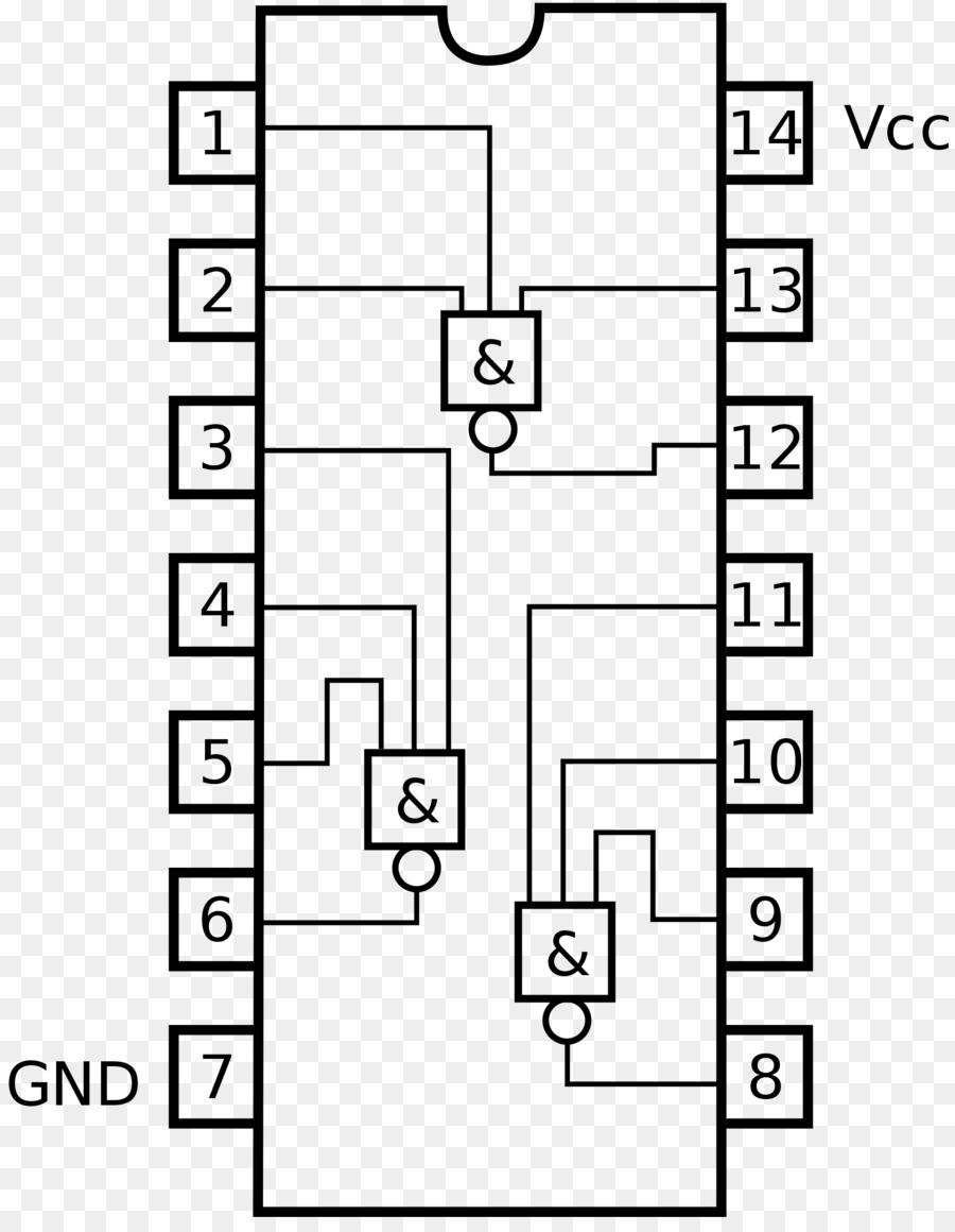Circuito Integrado 7404 : Circuito de la alu ls en proteus arquitectura de