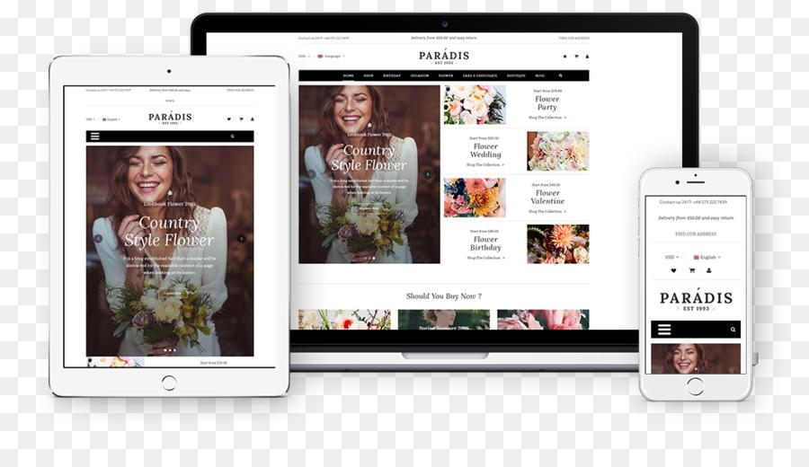 WooCommerce Responsive web design WordPress Magento Theme ...