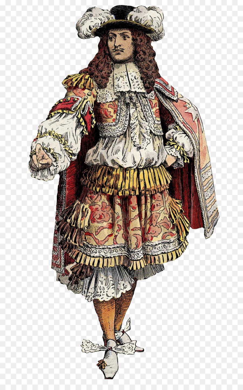 17th century fashion in france 82