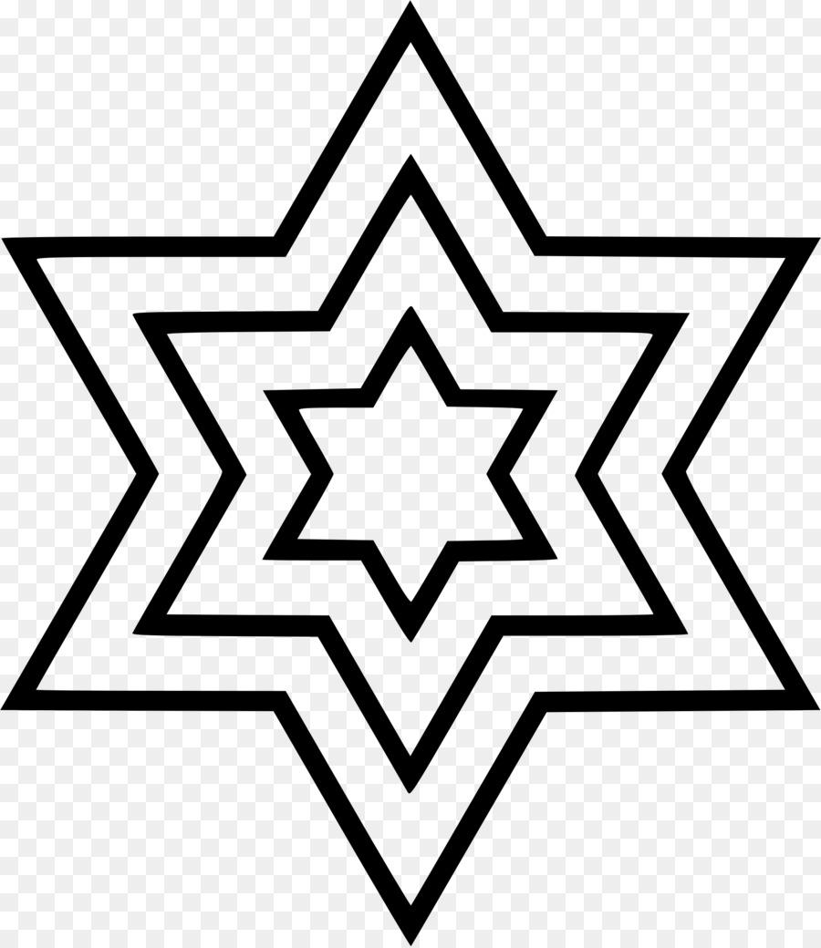Star Of David Judaism Jewish Symbolism Religion Judaism Png
