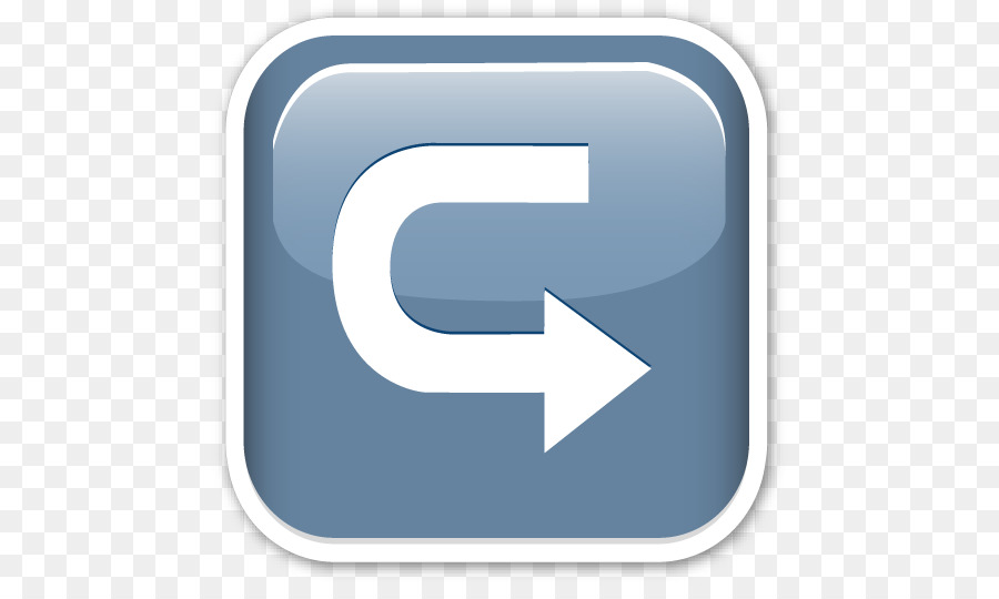 Emoji Sticker Symbol Arrow Text Messaging Emoji Png Download 523