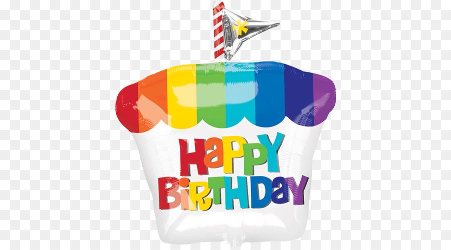 Cupcake Balloon Birthday Party Hat