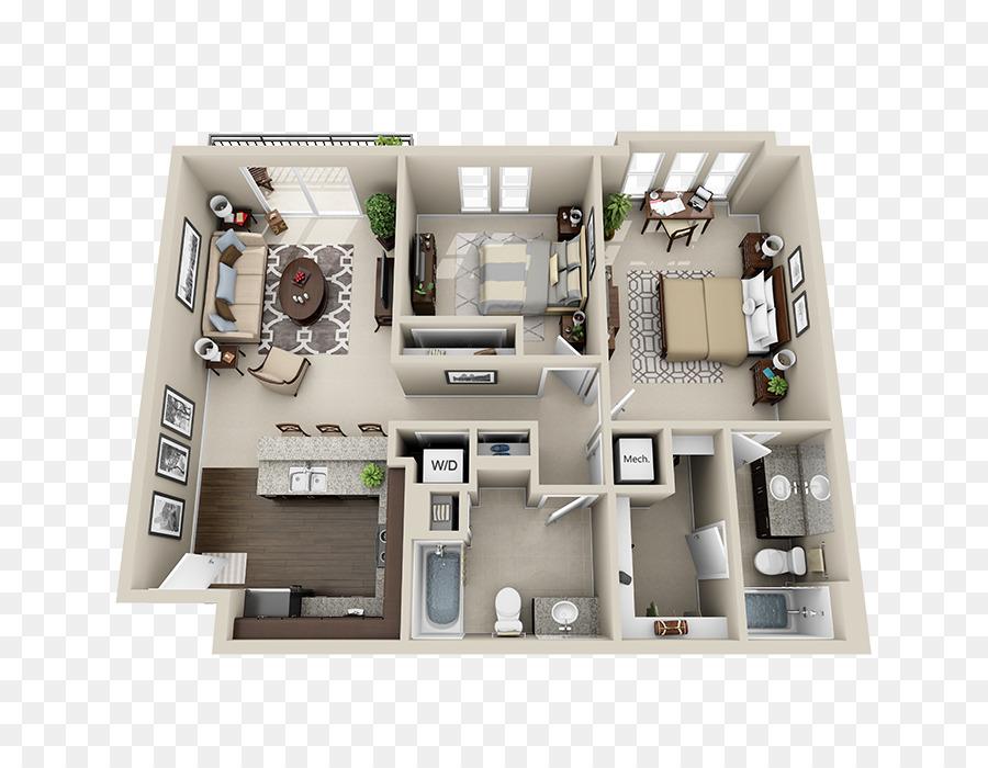 Haus Planen Wohnung 3d Grundriss Haus Png Herunterladen 700700