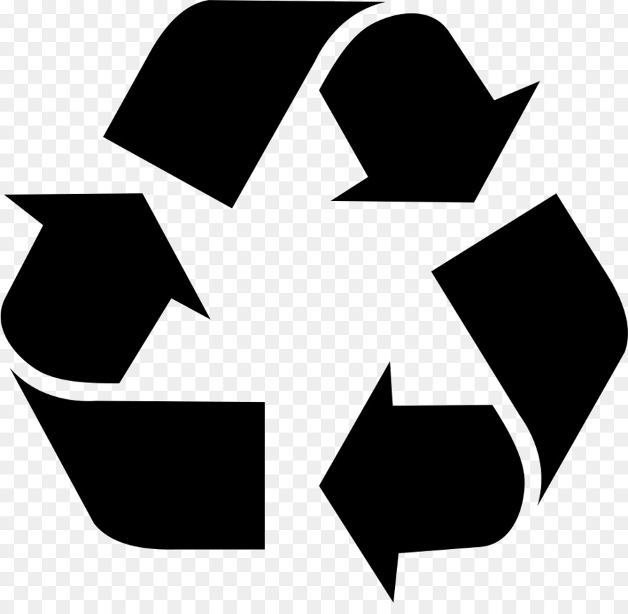 Recycling Symbol Waste Silhouette Png Download 981942 Free