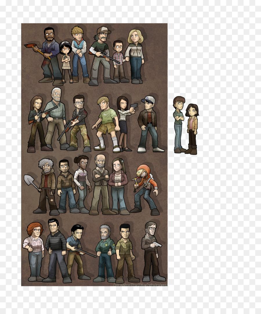 Walking Dead Season Two png download - 753*1061 - Free