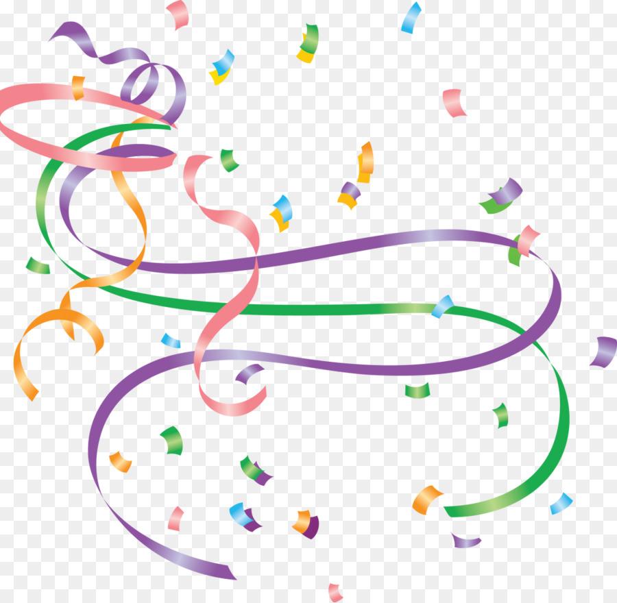 serpentine streamer new year confetti clip art confetti