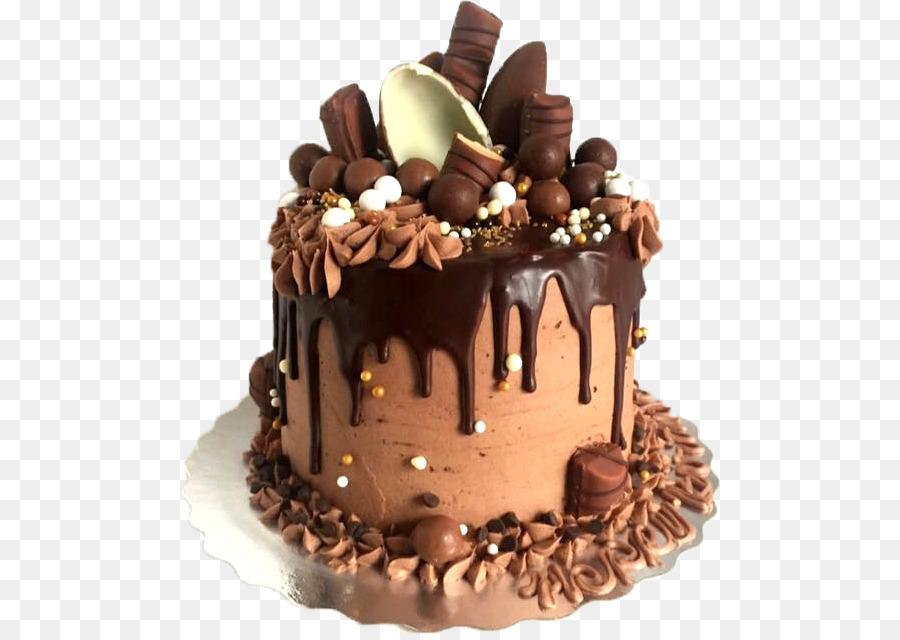Chocolate Cake Birthday Layer Brownie Truffle