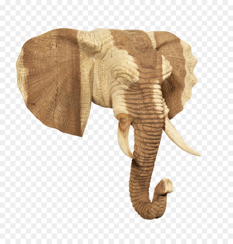 Der Afrikanische Elefant Mobel Indische Elefant Holz Teak Holz Png