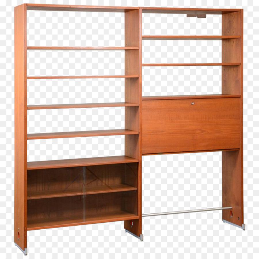Regal Bücherregal Wall Unit Mid Century Modern Möbel Design Png