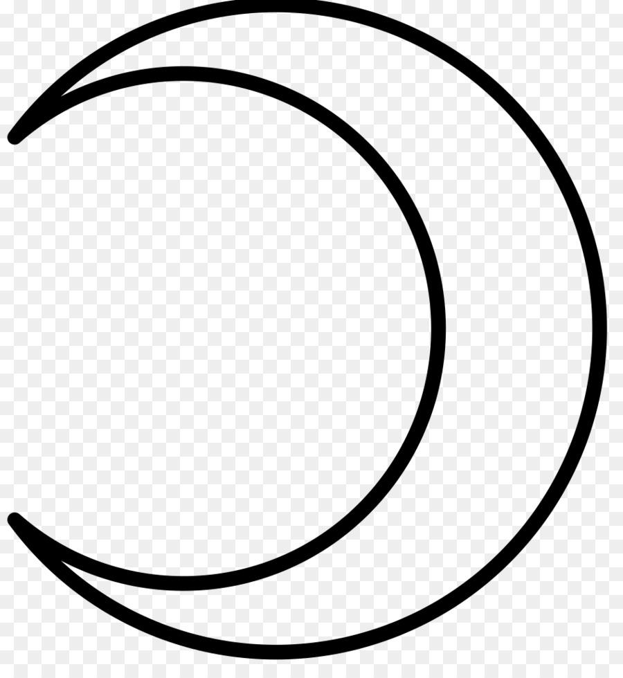 Lunar Phase Astrological Symbols Crescent Moon Symbol Png Download