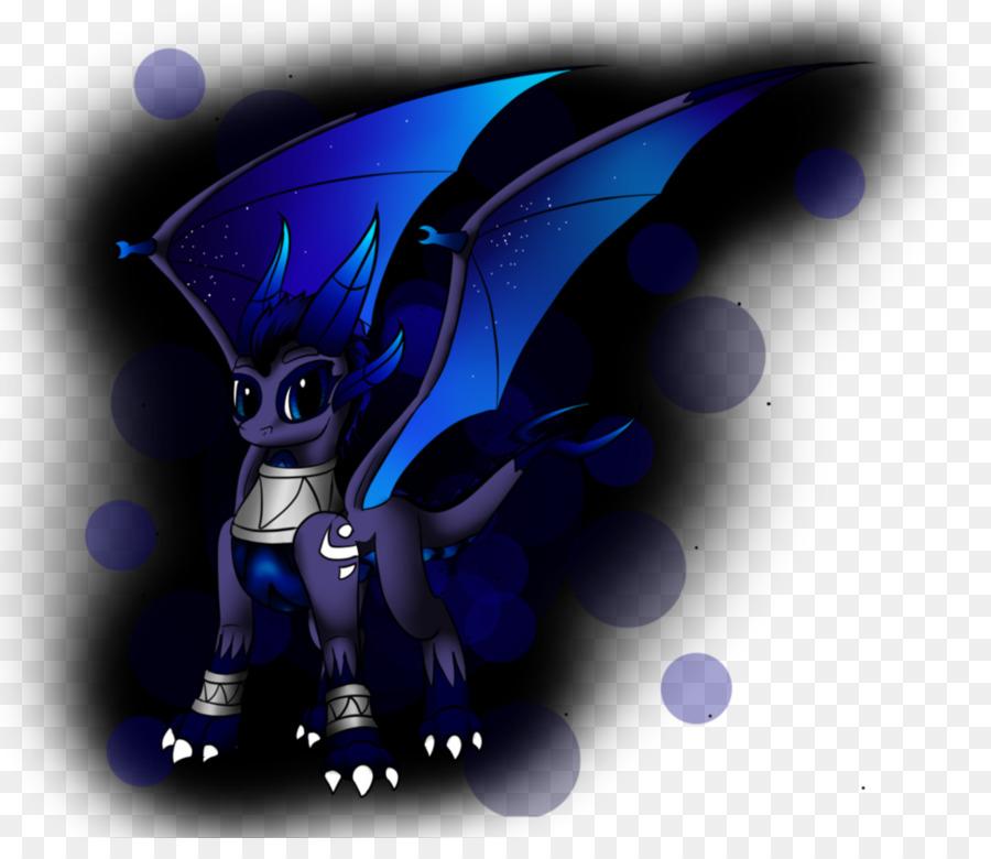 Cobalt Blue Dragon Sfondo Del Desktop Drago Scaricare Png