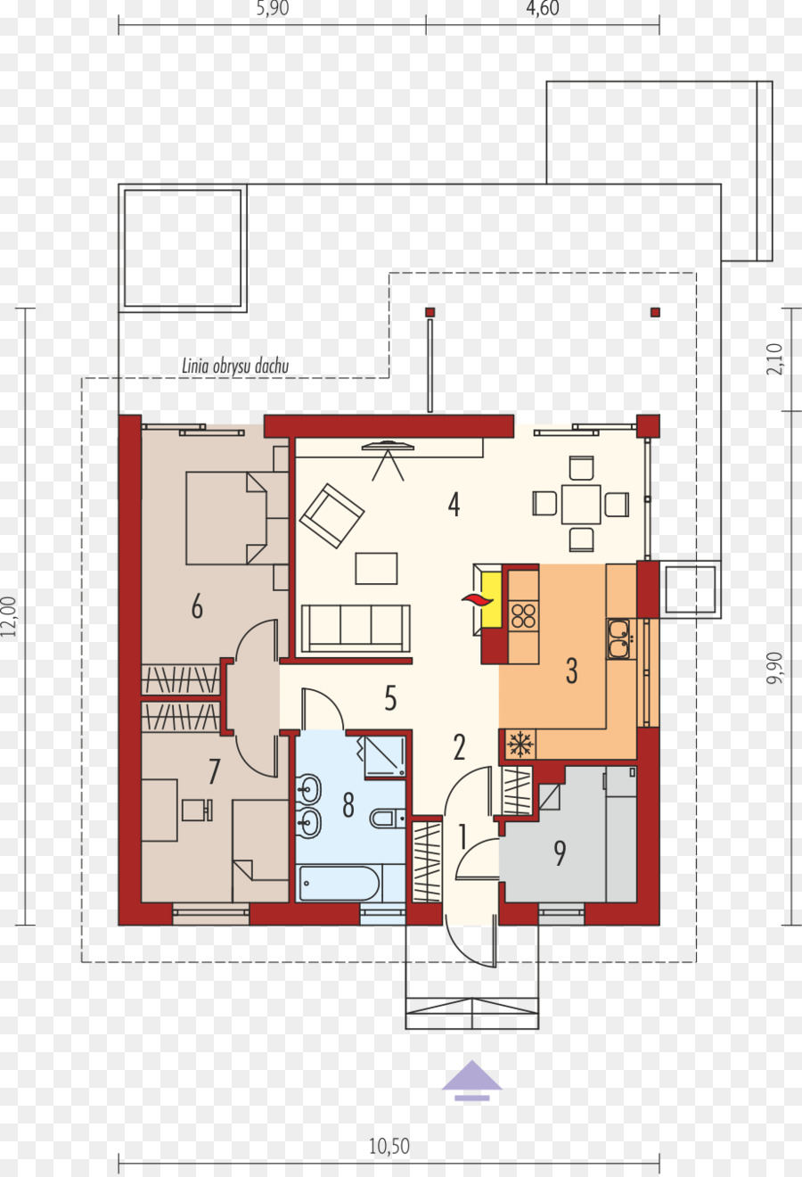 House Floor Plan png download - 923*1351 - Free Transparent House
