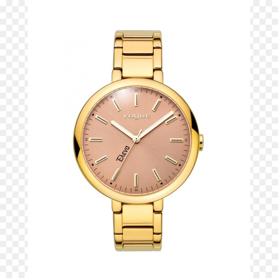 1bf6a5769a5 Relógio de aço inoxidável de Ouro Vogue - assistir - Transparente ...