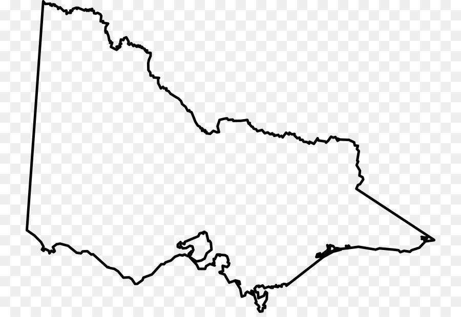 Victoria State Australia Map.United States Victoria Blank Map Clip Art United States Png
