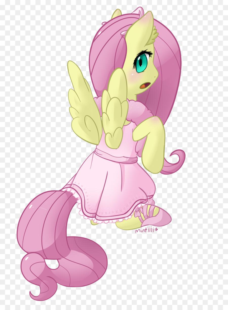 Pony Fluttershy Pinkie Pie Cavallo Ballerino Cartone Animato