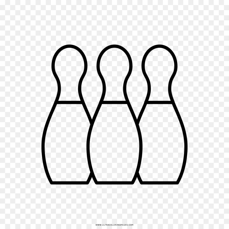 Bowling pin Drawing Coloring book Game - bowling png download - 1000 ...