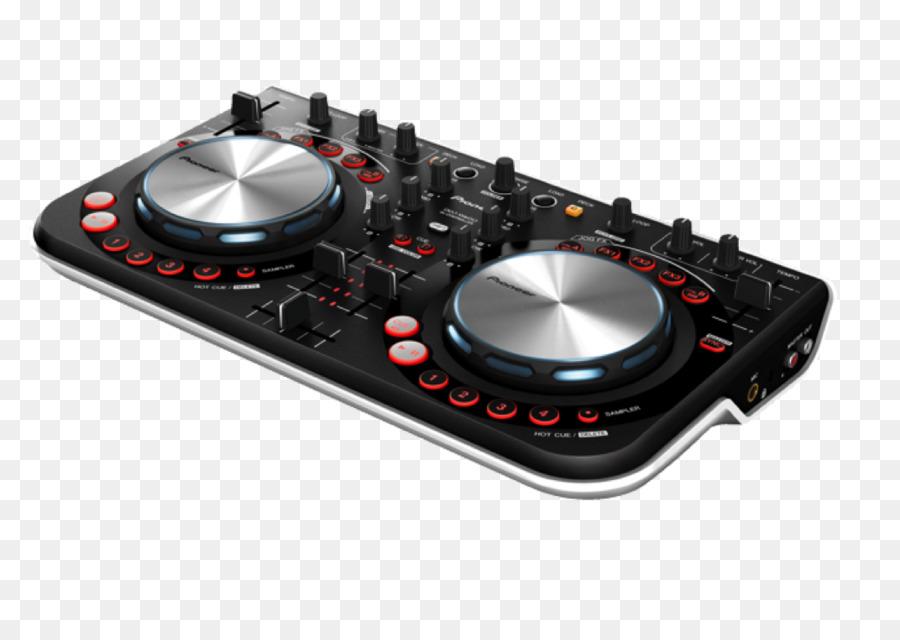 DJ controller Pioneer DJ Disc jockey DJ mixer Audio Mixers - Virtual