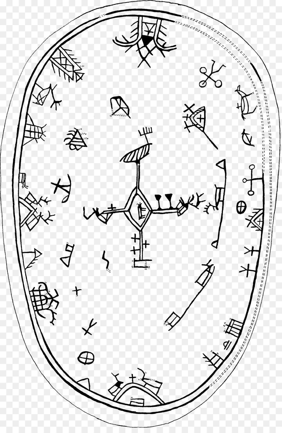 Sami Shamanism Religion Religious Symbol Sami Drum Symbol Png