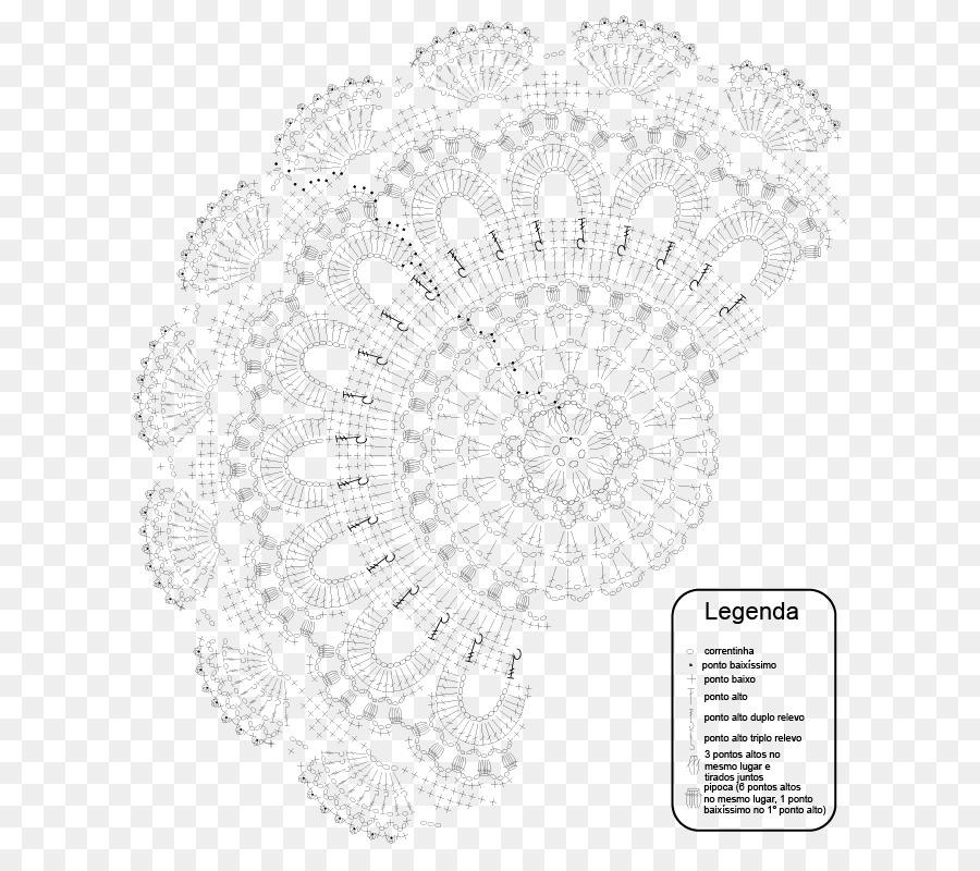 Crochet Carpet Knitting Doily Pattern Carpet Png Download 709