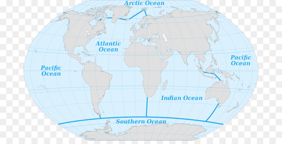 Arctic Ocean Pacific Ocean Atlantic Ocean Southern Ocean Earth