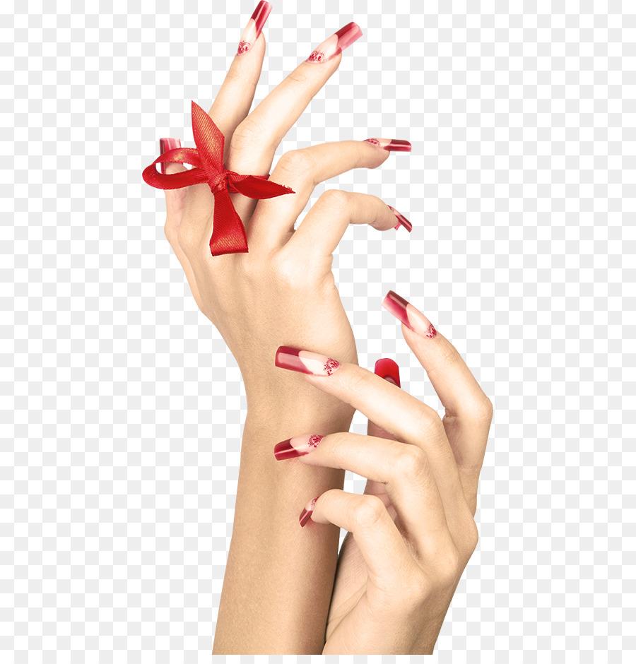 Nail Art Manicure Hand Model Nail Png Download 497927