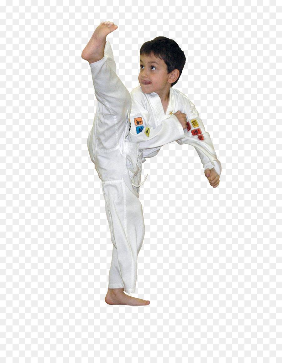 Dobok Karate Taekwondo Martial arts Flying kick - karate Formatos De ...