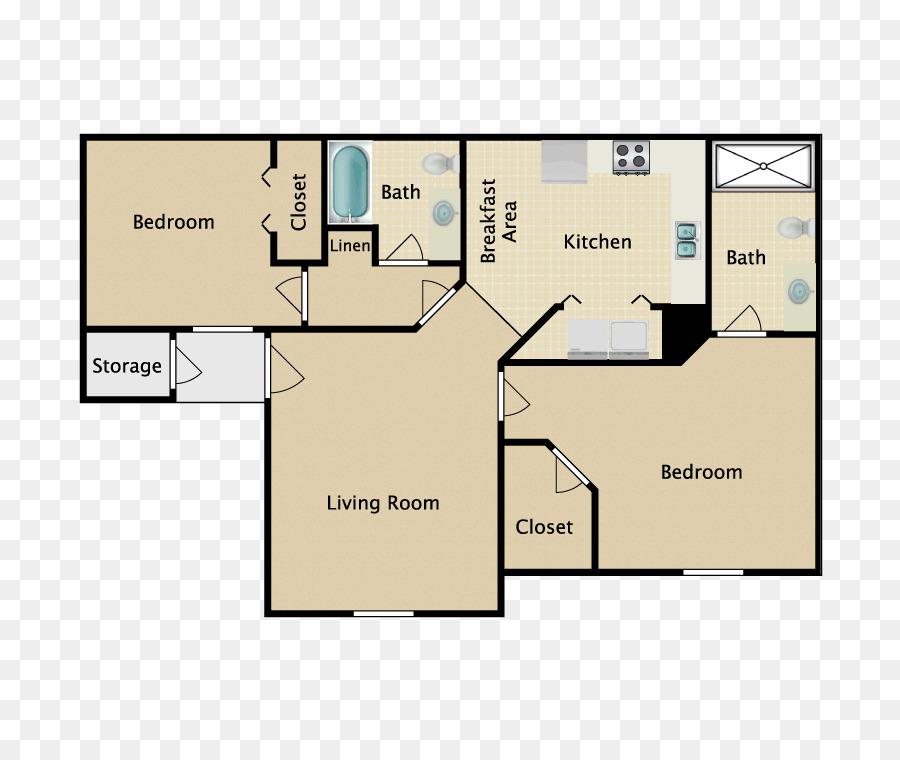 Floor Plan Bedroom House Bathroom Bed Png Download 750750