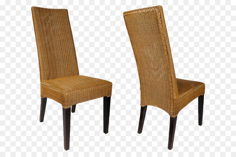 Lloyd Loom Wing chair Furniture Eetkamerstoel - chair Formatos De ...