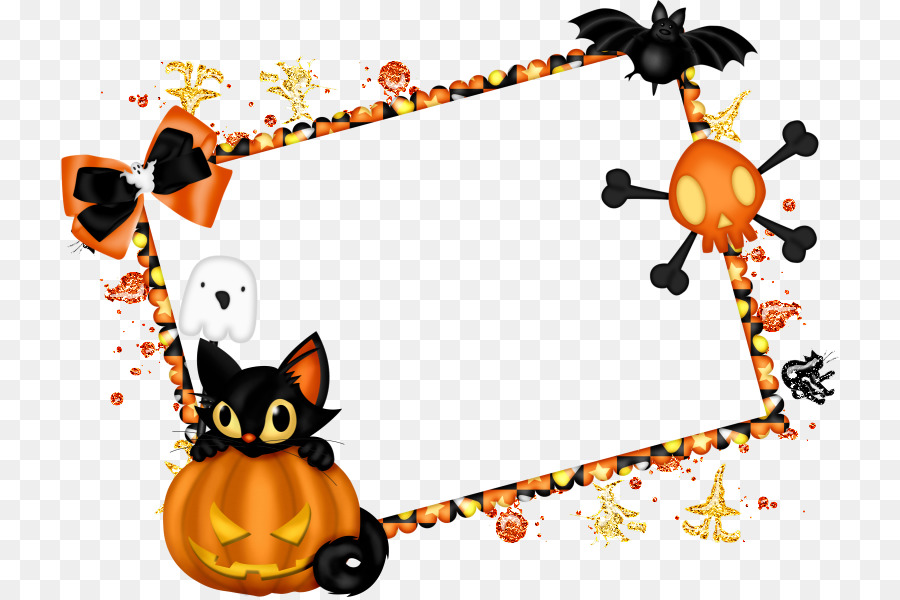 Borders and Frames Halloween Scrapbooking Clip art - frame halloween ...