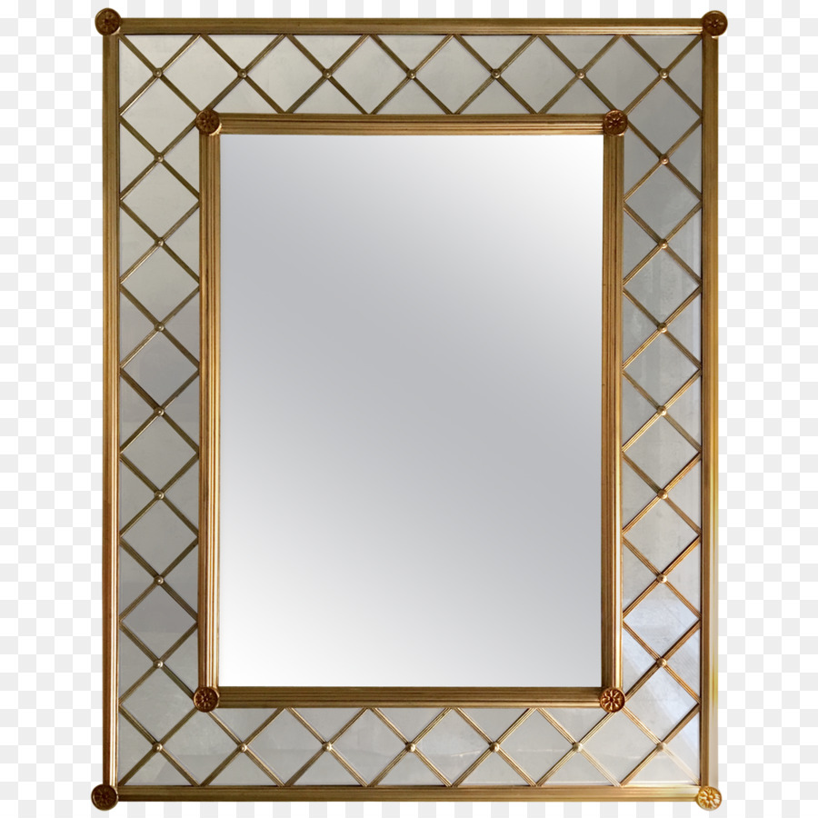 Picture Frames Mirror Hollywood Regency Silver - mirror png download ...