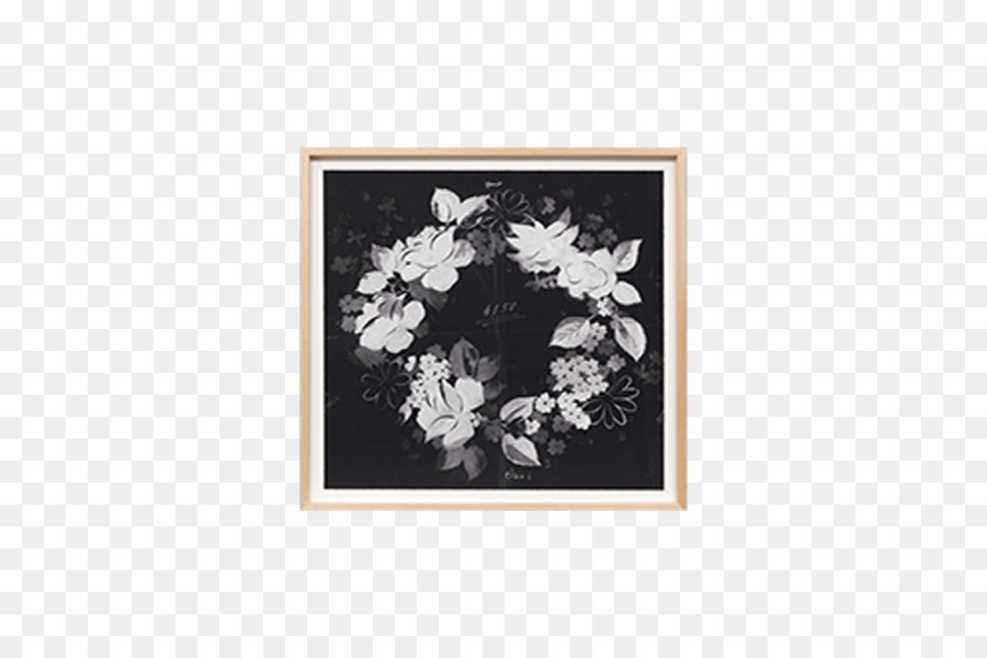 Picture Frames Art Melbourne Twins - watercolor black flower ...