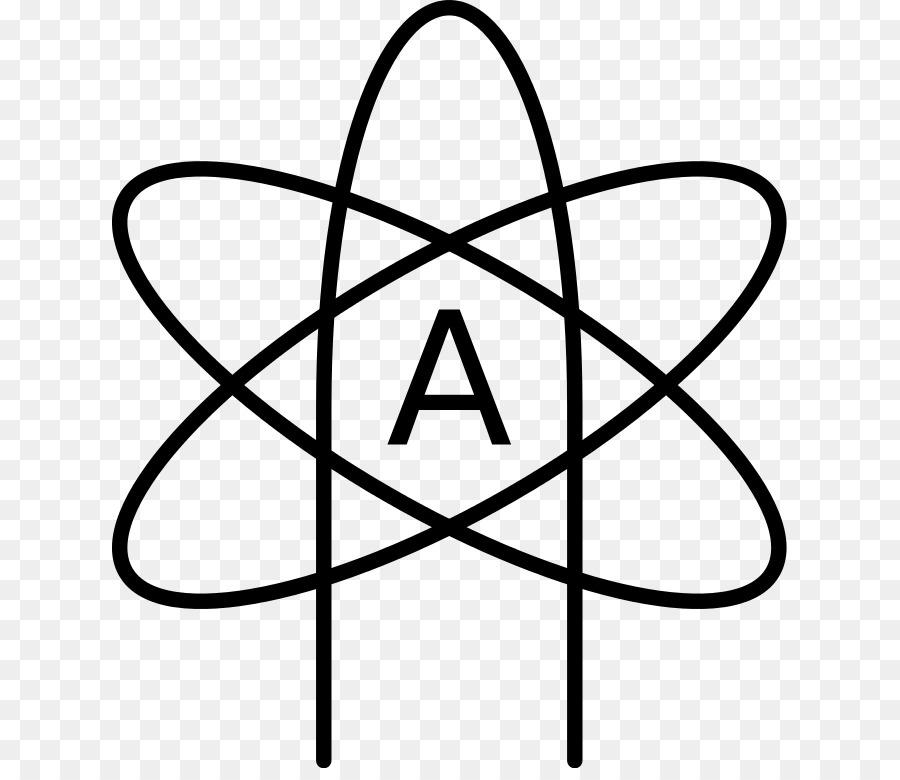 Atoms In Molecules Symbol Atheist Symbol Png Download 675768