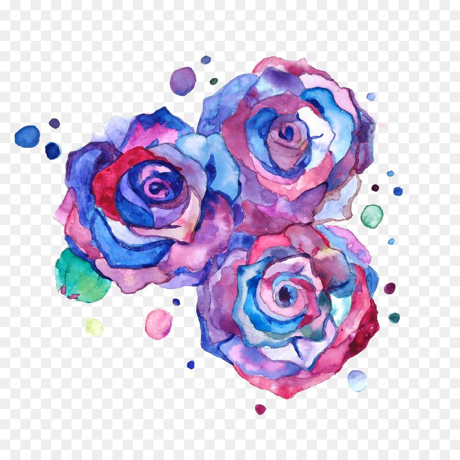 Dessin Couleur Rose Fleur De L Art Aquarelle Fromage