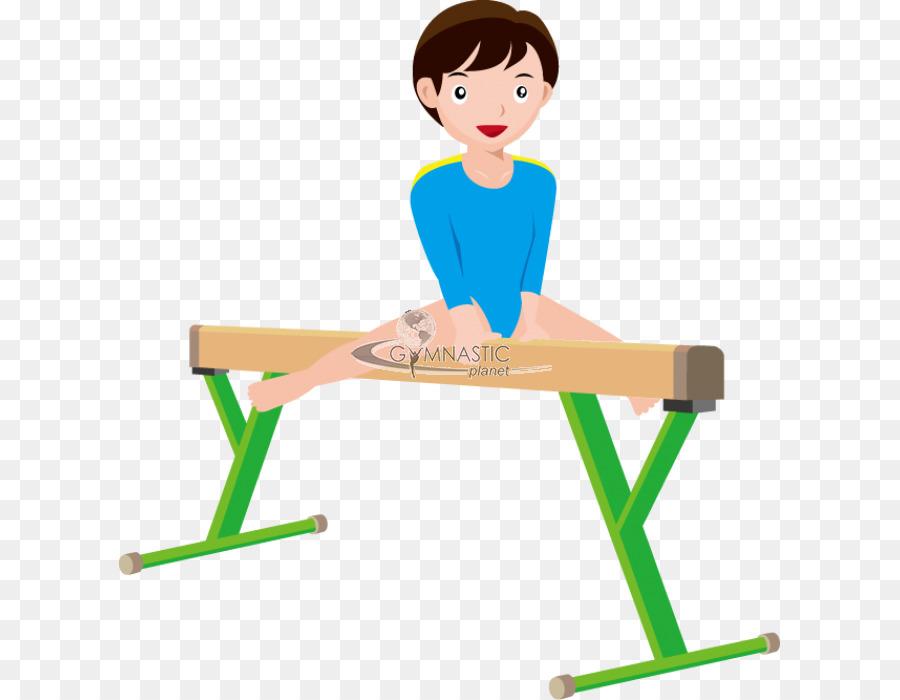 Artistic Gymnastics Balance Beam Clip Art