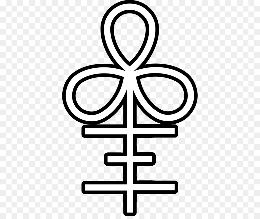 Leviathan Alchemical Symbol Ankh Cross Symbol Png Download 469