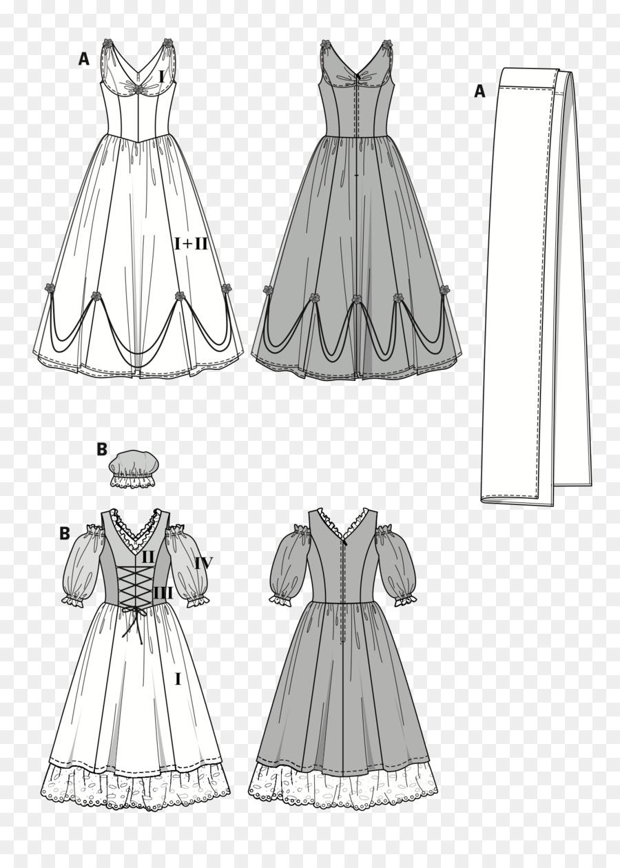 Traje Disfraz De Burda Style Patrón De Vestido - patrón de vestido ...