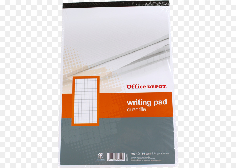 Paper Notebook Office Depot A4 Business Cards - notebook paper png ...