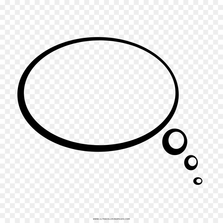 Coloring book Drawing Thought Black and white Clip art - bubbles ...