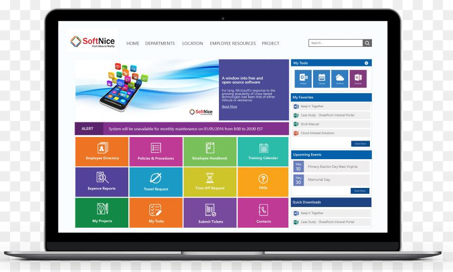 computer program web page intranet portal sharepoint