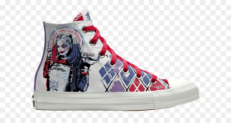 96919d78e385de Harley Quinn Joker Deadshot Converse Chuck Taylor All-Stars - high heeled  converse png download - 800 476 - Free Transparent Harley Quinn png  Download.