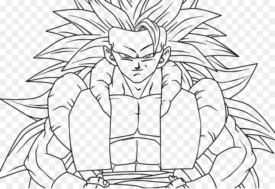 Gogeta Goku Vegeta Majin Buu Super Saiyan Goku Png Download 1080