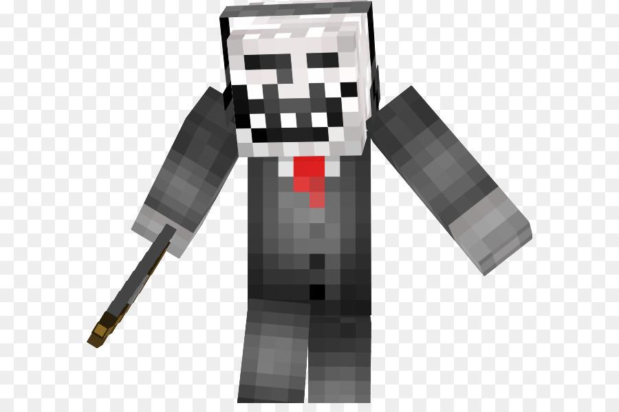 Minecraft Mods Internet Troll Skin Terminator Face Hd Png Download - Skins para minecraft pe de troll