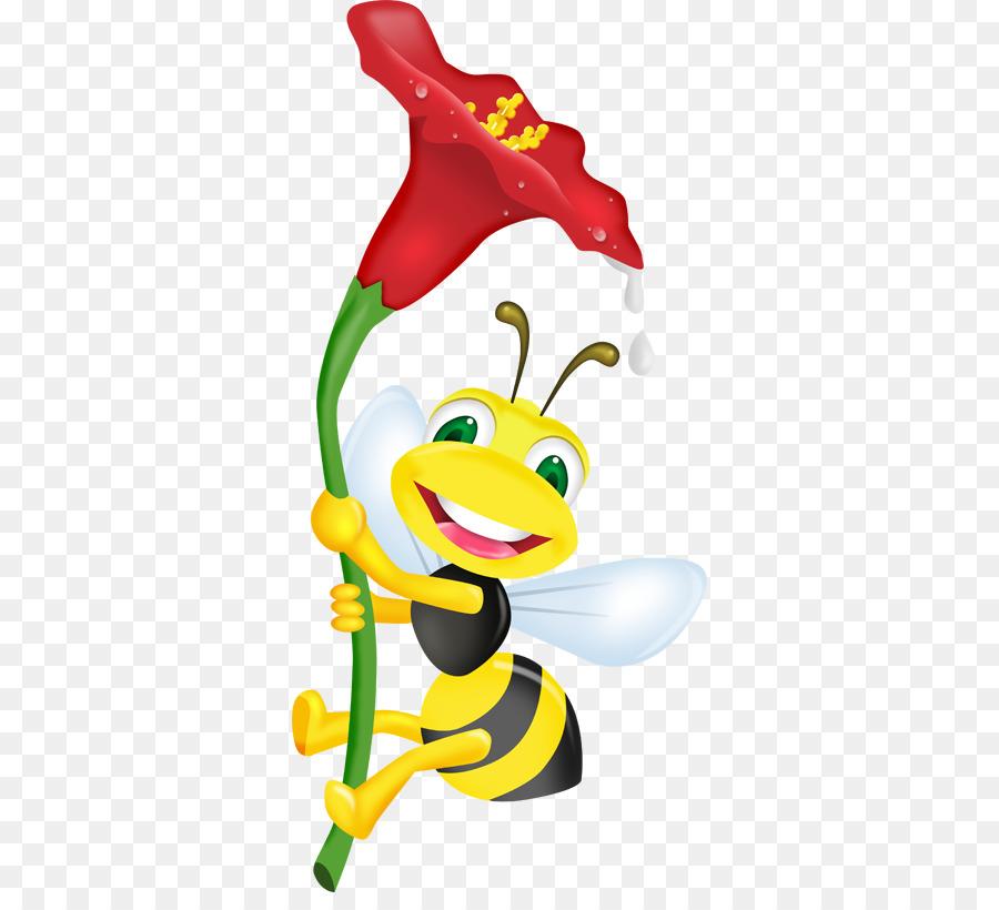 Arı Boyama Plak Kaydı çizim Bal Arısı Png Indir 374804