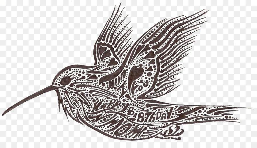 Bird Line Drawing Png Download 1198666 Free Transparent